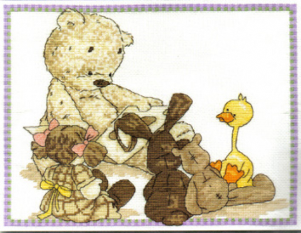 Lickle Ted Lickle Story Cross Stitch Kit